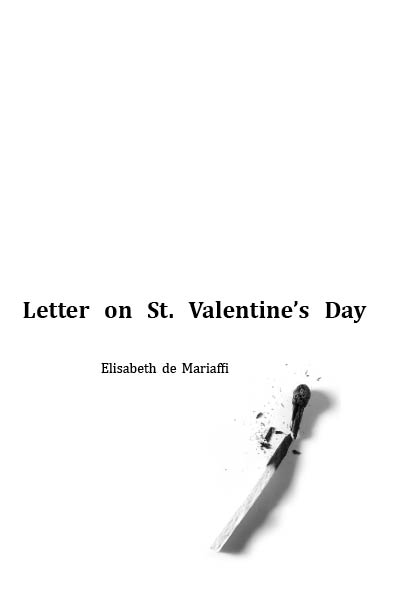 Letter on St Valentines Day